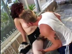 goth beauty midnite is coached on fuckin