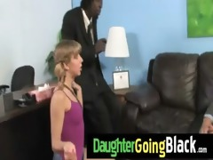 my daughter takes a real dark cock 8