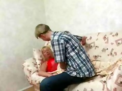 valuable chubby mature women and juvenile guy.by