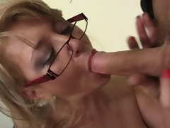 young jock for mature boss lady