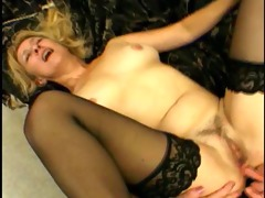 milf receives it is hard in the booty and mouth -
