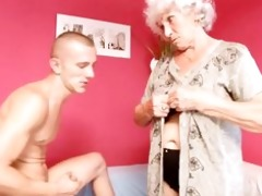 granny betty bonks youthful cock