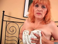 granny with large whoppers sucks rod and acquires