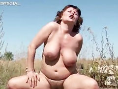 slutty mother i receives her hairy muf fucked