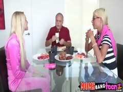 mommy bonks daughter and boyfriend puma swede,